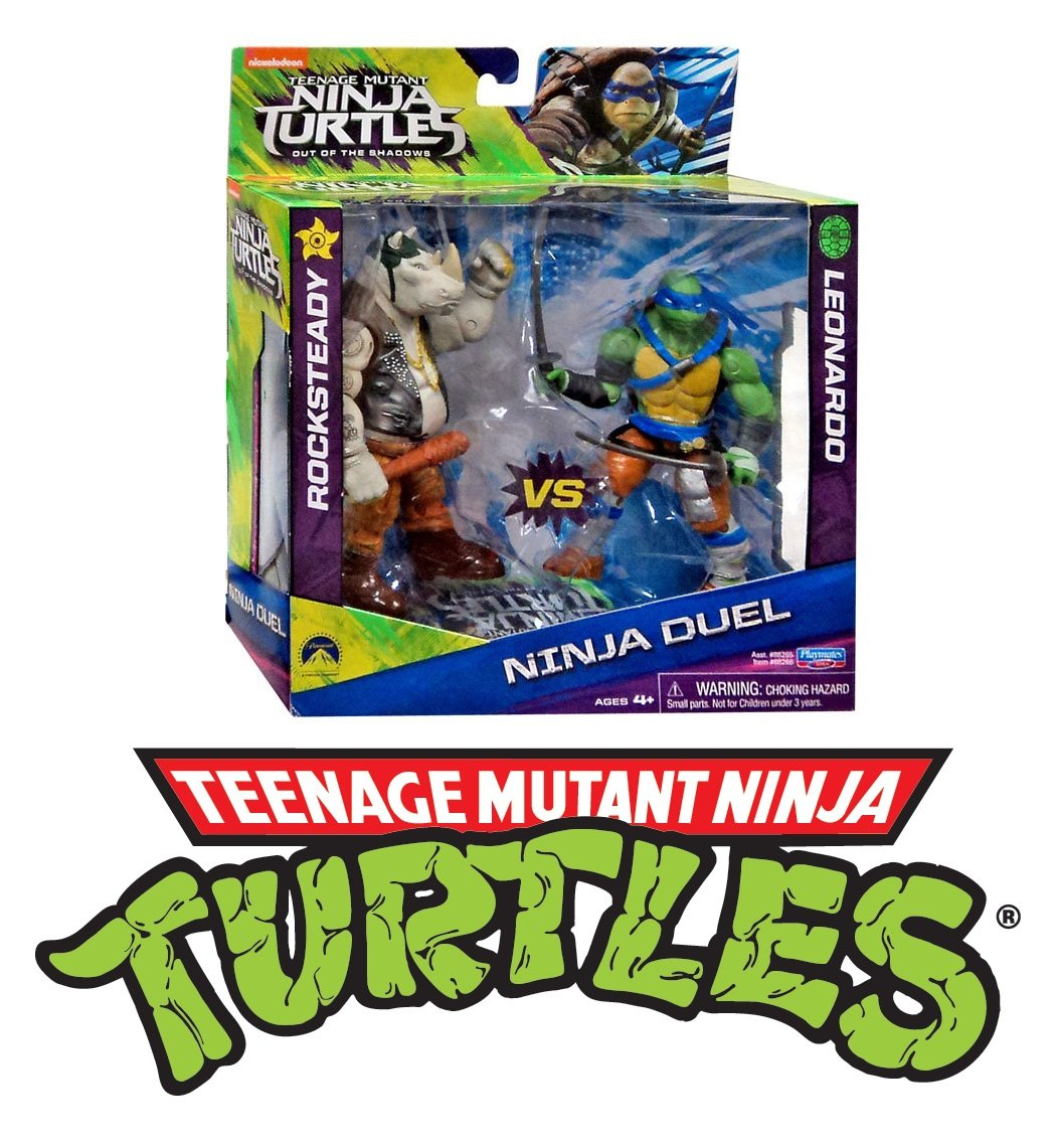 Flair 61000 Teenage Mutant Ninja Turtles - Duel Rocksteady ...