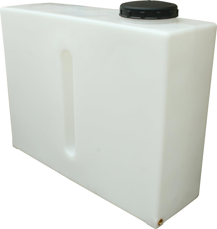 Depósito de agua de contención inoxidable, 280 litros, vertical, de la marca Ecosure: Amazon.es: Jardín