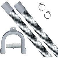 Manguera de desagüe extendida de 2 m, manguera de desagüe retráctil, que se puede utilizar para el kit de extensión de…