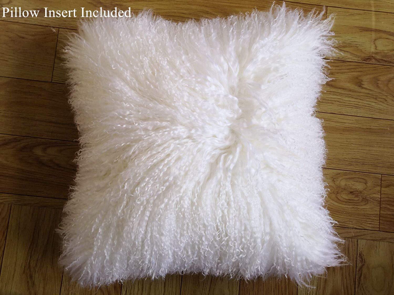 Amazon.com: Smart Origin - Cojín de lana de cordero 100 ...