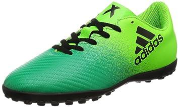 on sale f7426 e1f12 adidas X 16.4 TF J – fútbolpara Boots Children, Green – (Versol negbas