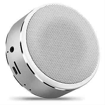 Altavoz Bluetooth Tarjeta Portátil Inalámbrica Metal Pequeño ...