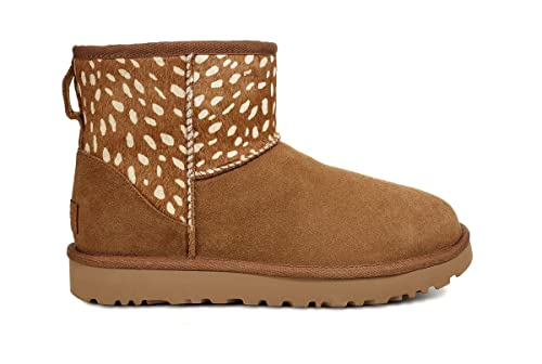 4b89ac48790 UGG - Boots Classic Mini II Idyllwild - Chestnut, Size:6 UK: Amazon ...