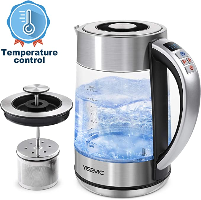 Yissvic Electric Kettle With Infuser