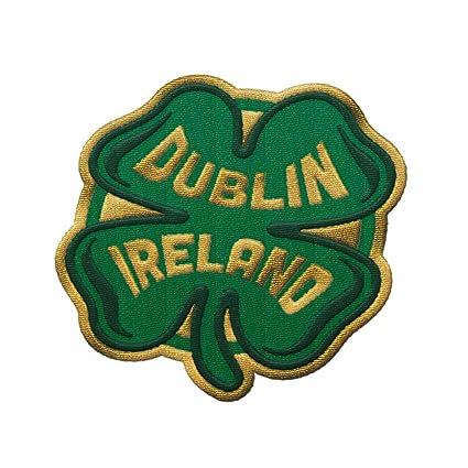 Amazon.com: Parche de viaje de Dublín Irlanda – diseño de ...