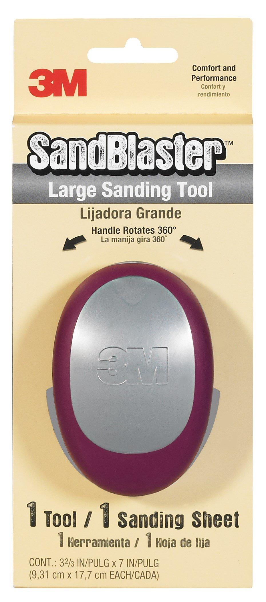 3M 463-000-4G SandBlaster™ Rectangle Large Sanding Tool
