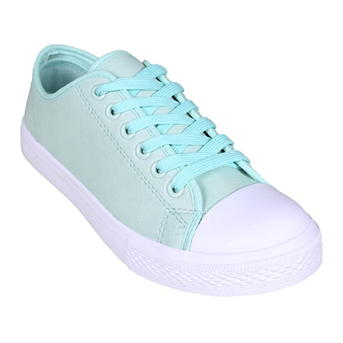 12ccf72acc91 ONLY Women s Trainers green mint  Amazon.co.uk  Shoes   Bags