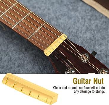 Gitarre Teile 6 String Konzertgitarre Knochenbrücke Sattel und Nuss Set WQ