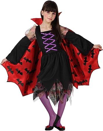Atosa-14994 Vampiro Disfraz Vampiresa, Color violeta, 3 A 4 Años ...