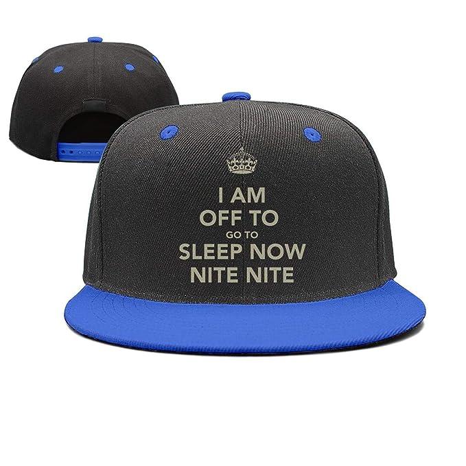 17d0f8e431676 Unisex i am Off to Go to Sleep Now Caps Designer Snapback Hat at ...