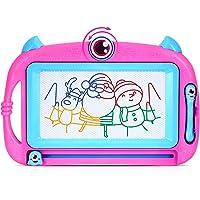 Peradix Kids Art Magnetisch Kleuren Tekenbord 32x21 Cm, met 2 Pennen en Mooie Stickers voor Kinderen 3 4 5 Geschenken