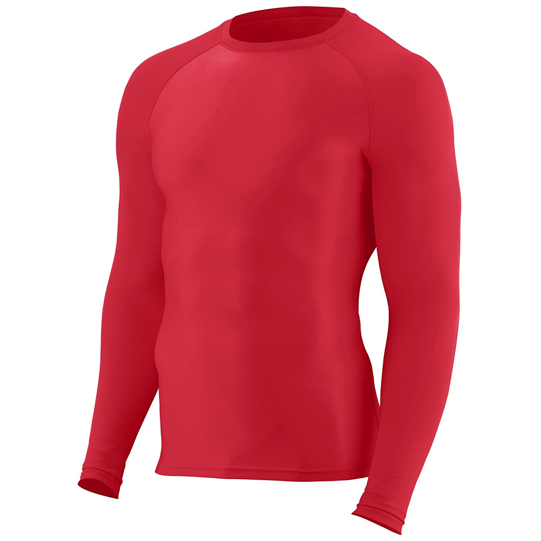 Augusta Sportswear Mens Hyperform Compression Long Sleeve Shirt 2604