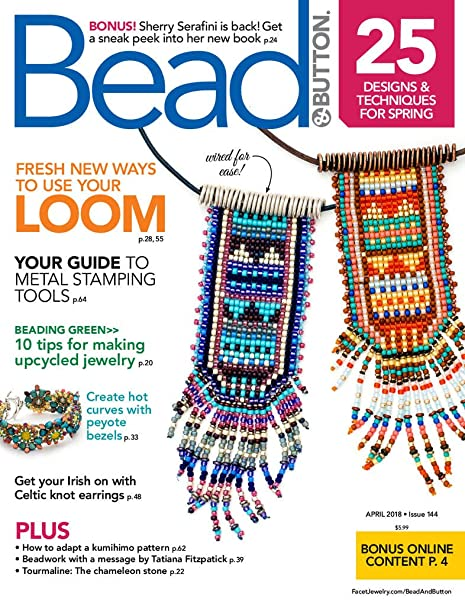 Bead Button Amazoncom Magazines - Free invoice templates printable online bead stores