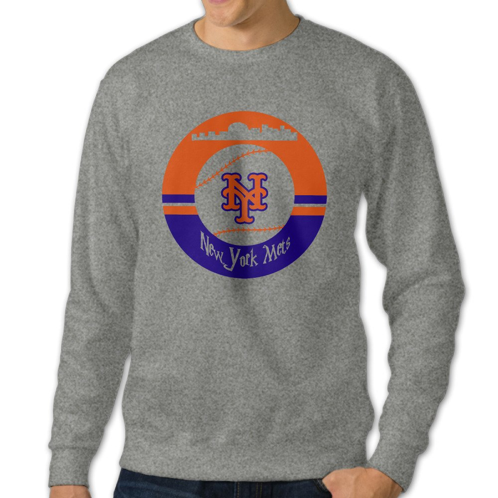 timeless design 9293d dda49 HUHA New York Mets Men's Crew Sweatshirt Tops XL ...