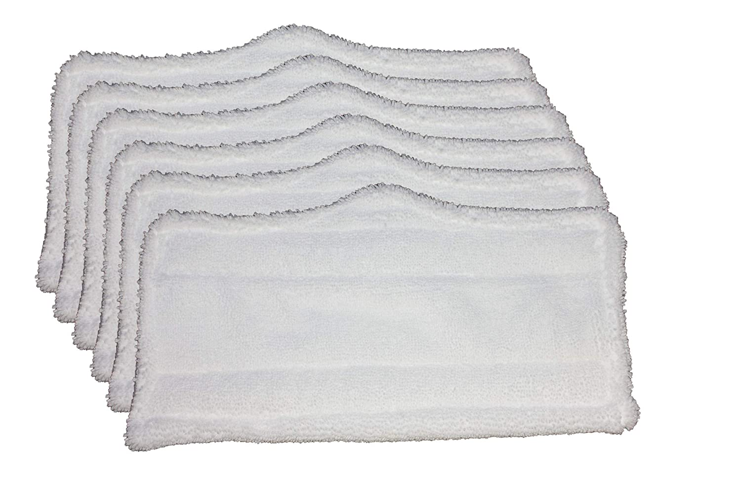 AI-Vacuum 6 pc Microfiber Pads (XT3101) for Shark Steam Mop S3101, S3250, S3202