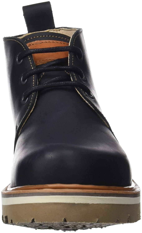 Art Herren (Black Rustic Kurzschaft Stiefel Schwarz (Black Herren Black) 1bd5a5
