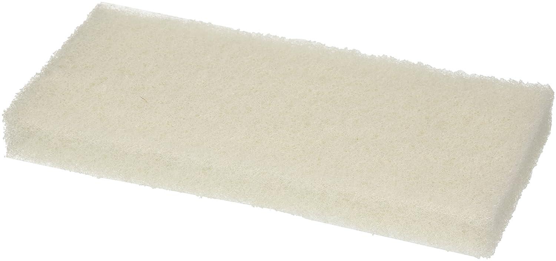 Aricasa Hygiene Products - cod. 1030WM - Fibra Abrasiva per Scrubber per Uso Alimentare - Bianco - Fibra Media Ariston Cleaning Solutions