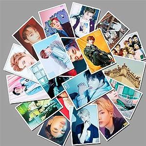 Pop Singer NCT Stickers 25PCS for Laptop and Water Bottles,Waterproof Durable Trendy Vinyl Laptop Decal Stickers Pack for Teens, Water Bottles, Computer, Travel Case (25pcs nct Singer)