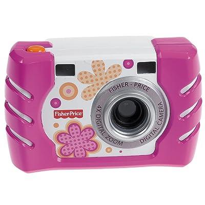 Fisher-Price Kid-Tough Digital Camera, Pink: Toys & Games