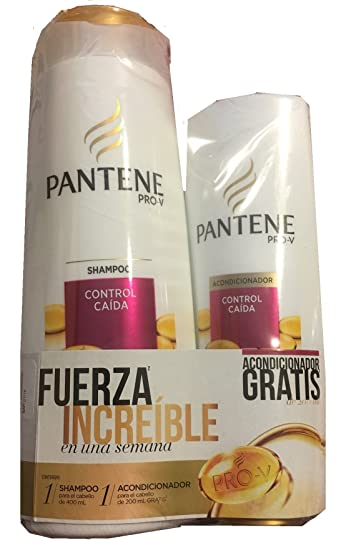Pantene Pro-V Control Caida (Shampoo and Conditioner)