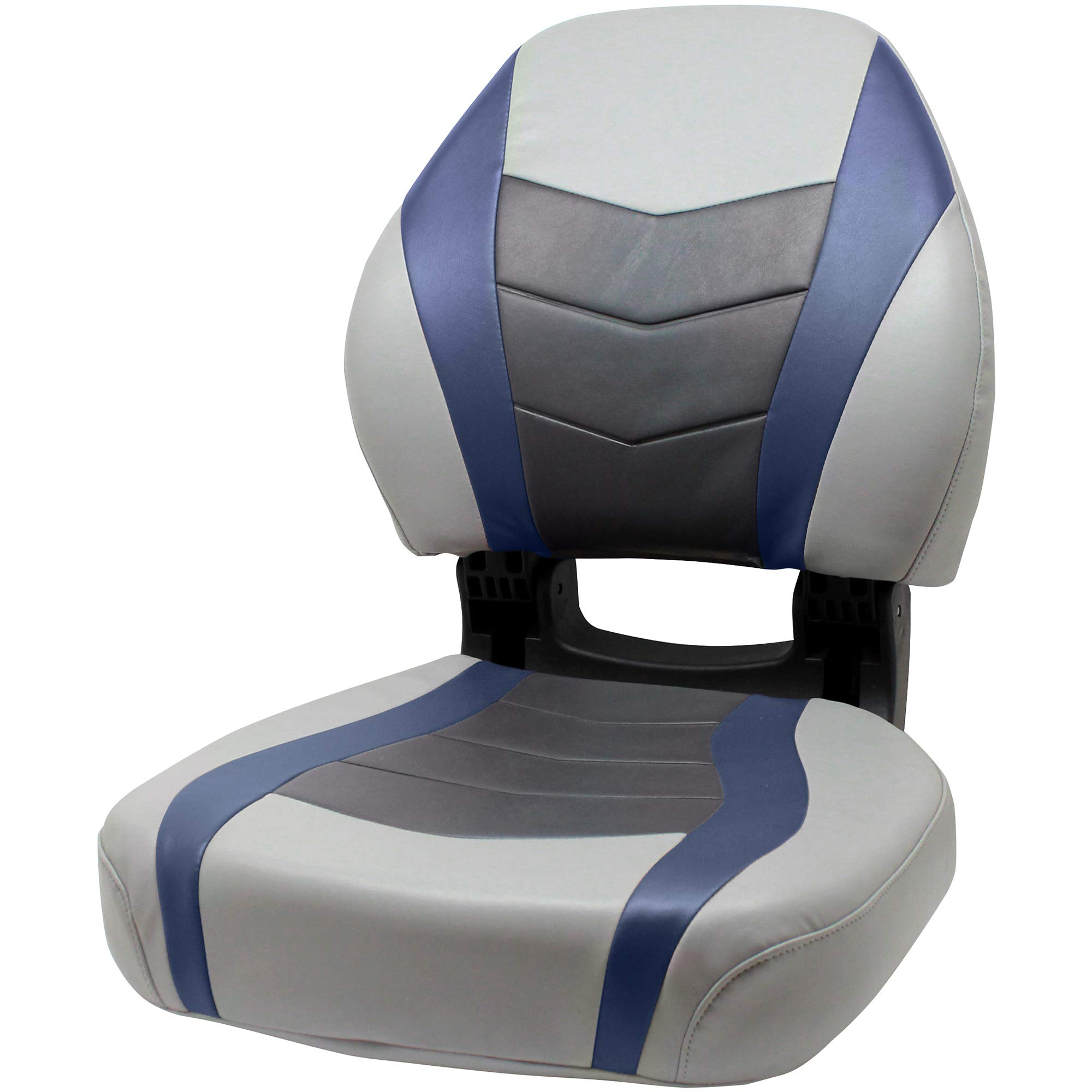 Overton's Torsa Pro Elite Boat Seat Marble/Midnight/Charcoal by Overton's