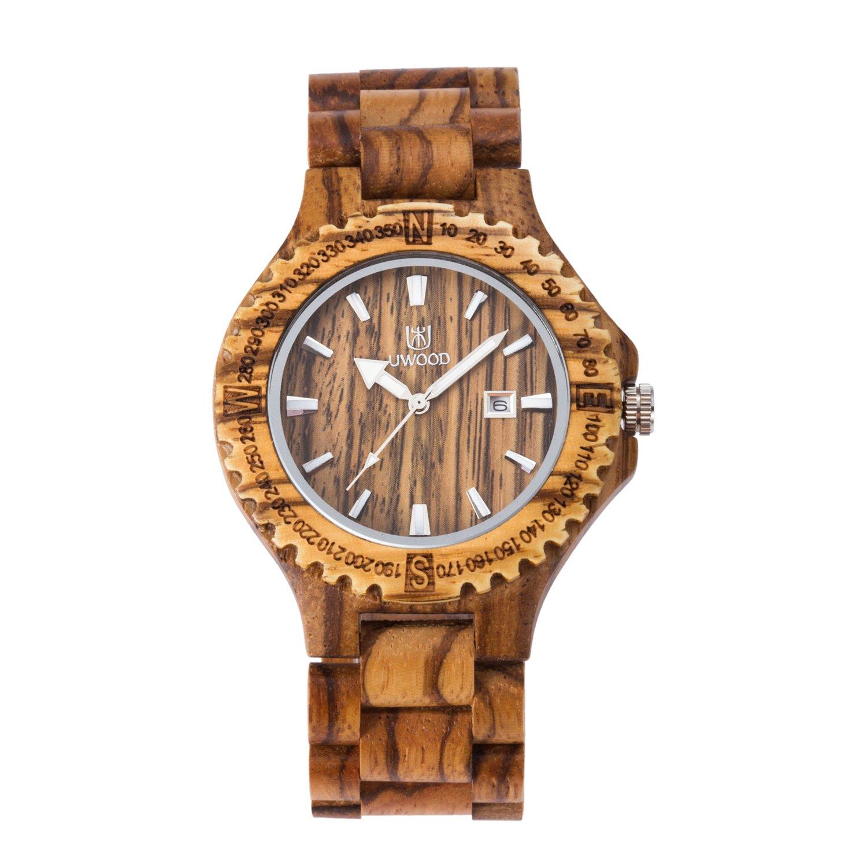 Reloj de pulsera de cuarzo analógico, reloj de pulsera MUJUZE Light vintage para hombre (Zebra): BIOSTON: Amazon.es: Relojes