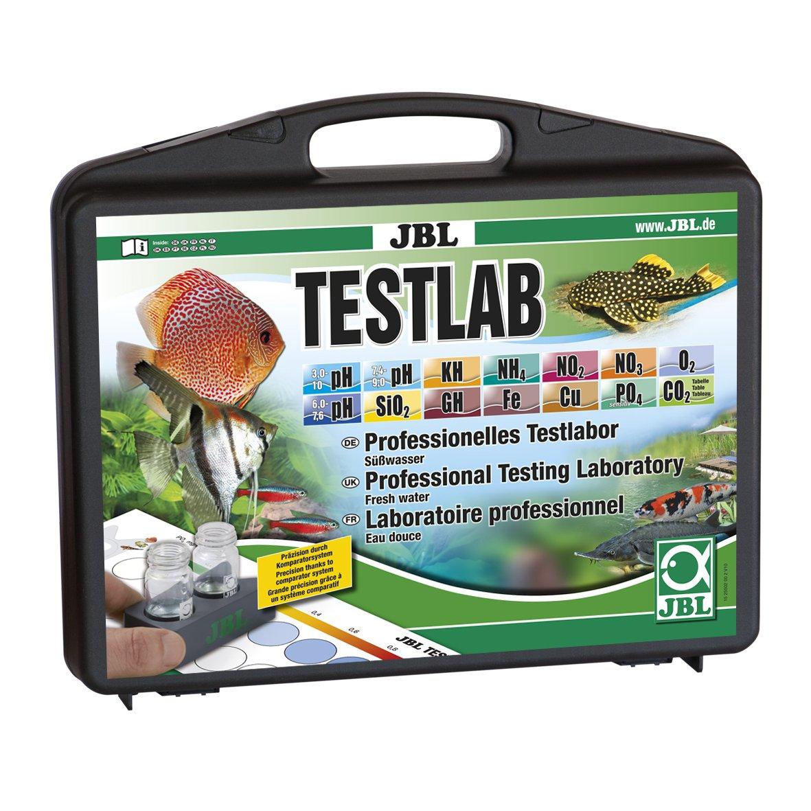 JBL Testkoffer con 12 Pruebas para la Análisis de agua dulce, Laboratorio de prueba 25502: Amazon.es: Productos para mascotas