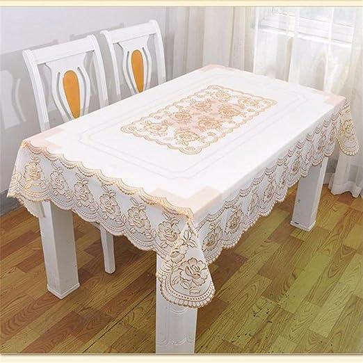 mksy & N Home Deco contemporáneo minimalista gamuza de encaje PVC ...
