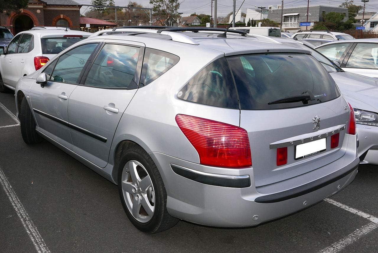AUTO ZH Brazo y escobilla para limpiaparabrisas Trasero para Peugeot 407 Combi Modelos de 2004 a 2010