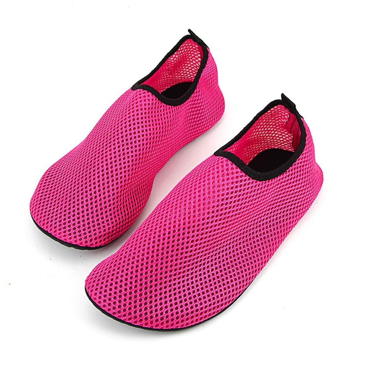 Water Shoes Slip on Aqua Socks Yoga Men Women Exercise Pool Swim Surf Beach Pool