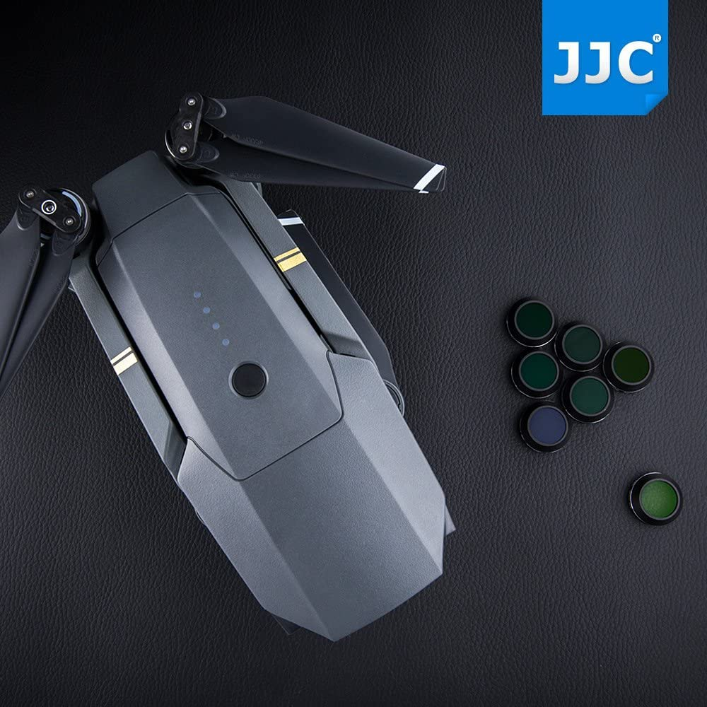 JJC ND4 ND8 ND16 ND32 Neutral Density ND Filters Kit for DJI Mavic Pro Drone Quadcopter Camera Accessories Aluminum Frame//Multi Coating//with Silica Gel Dehumidifier Desiccant Anti-Moisture Case