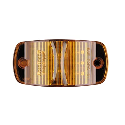 """Maxxima M23015Y 14 LED Amber 4"""" Combination Clearance Marker Light: Automotive"""