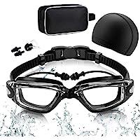 RabbitStorm Kit de Natación 5 en 1, Equipo de Natación que Incluye Gafas de Natación con Auriculares Integrados, Gorro…