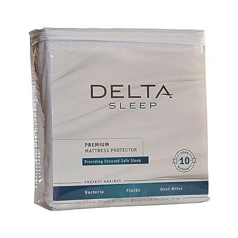 Amazon.com: Delta Sleep Protector de colchón impermeable ...
