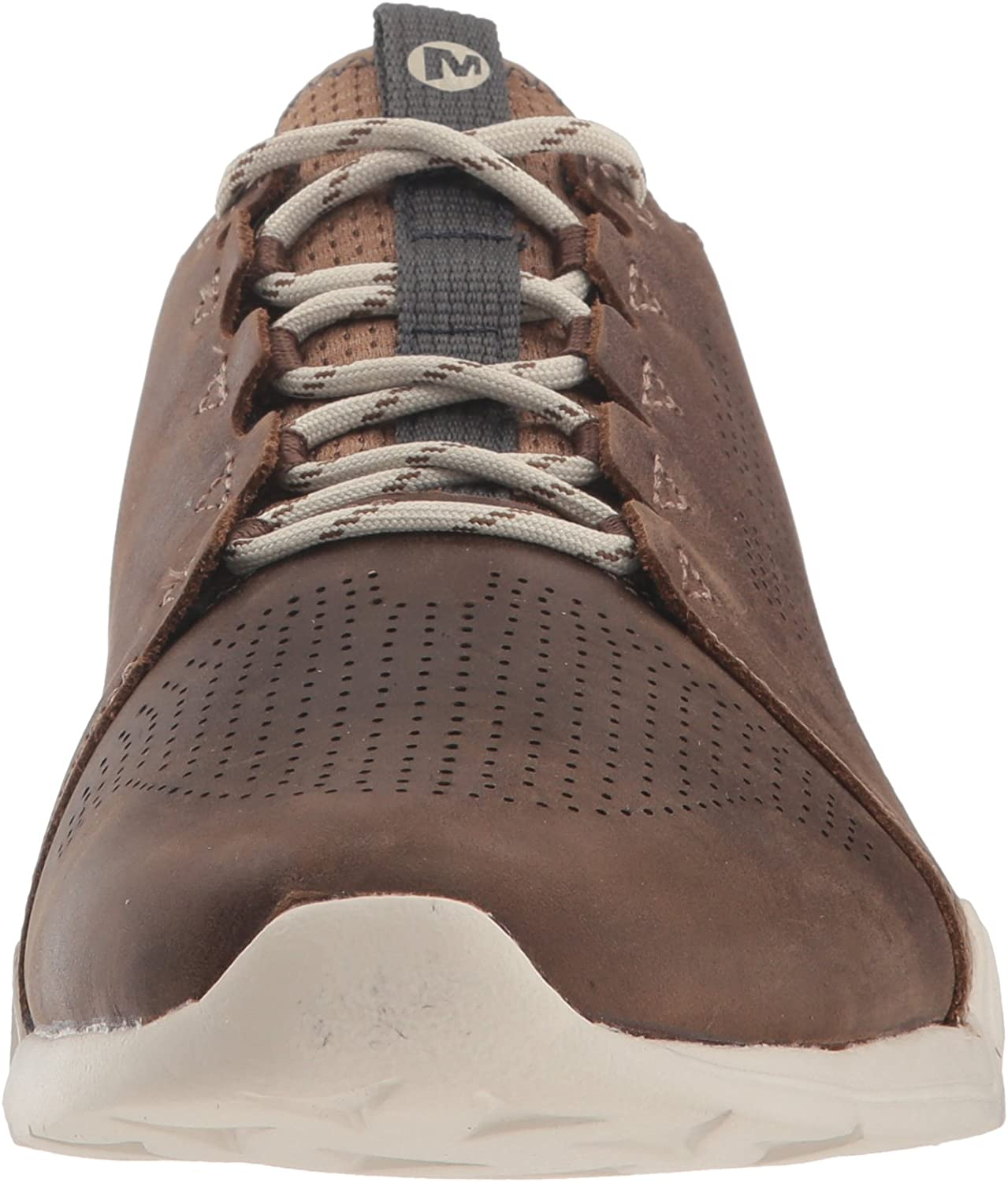 Merrell Mens Versent Kavari Lace Leather Driving Style Loafer