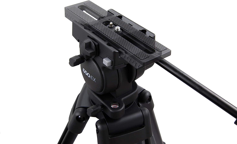 Libec tres pierna video trípode th-650ex profesional película Equipment