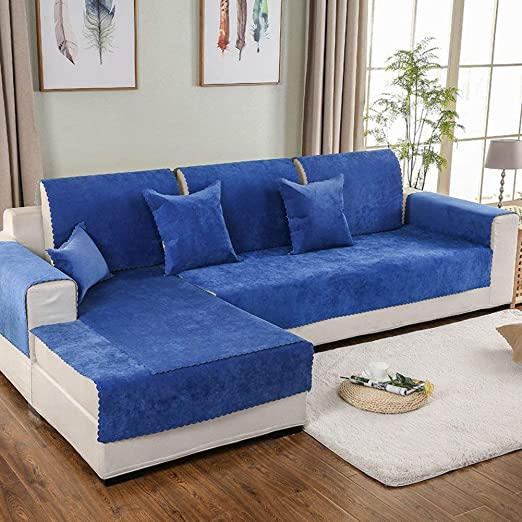 DYR Fundas Antideslizantes de Color sólido para sofás ...