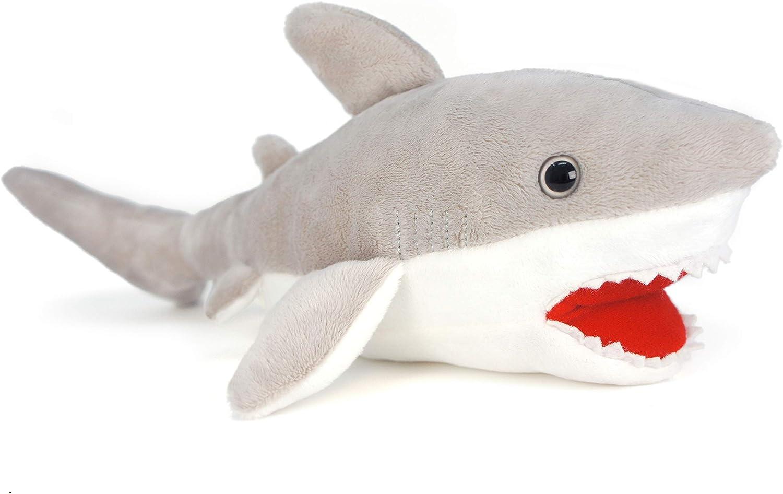 Gifts for Kids 13 Cuddlekins 13 inches Wild Stuffed Animal Zugar Land Plush Great White Shark Plush Toy