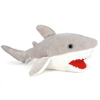 Amazon Com Viahart Mason The Great White Shark 16 Inch Large