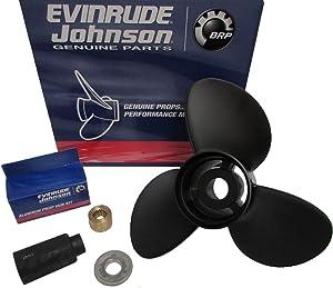 Evinrude/Johnson/OMC Cobra New OEM Propeller 15x15 Prop 765186,177133 Stern Driv