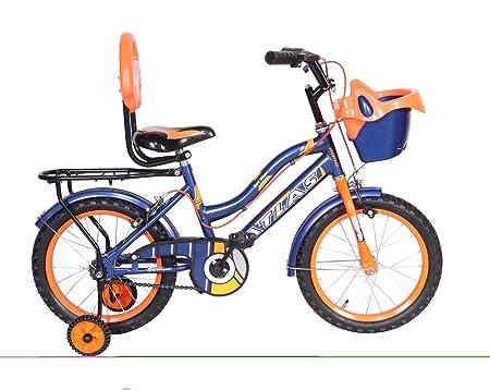 Atlas Hot Star TT 16 inches Single Speed Bike for Kids of Age 5-8 Yrs Blue & Orange