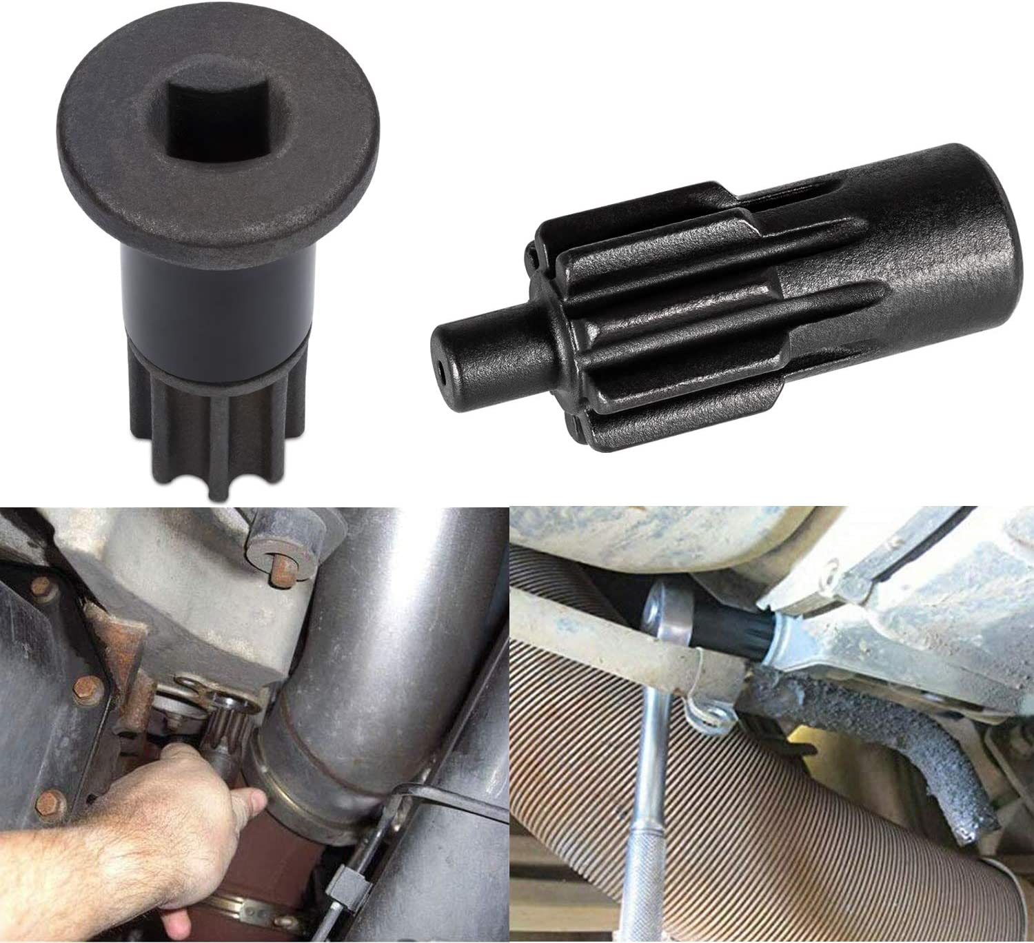 Engine Barring Tool for Paccar MX 13 for Peterbilt and Kenworth T880 Truck /& Engine Barring//Rotating Tool for Cummins B//C Series and Dodge Pickups 3.9L 5.9L 6.7L /& 8.3L Diesels Engines