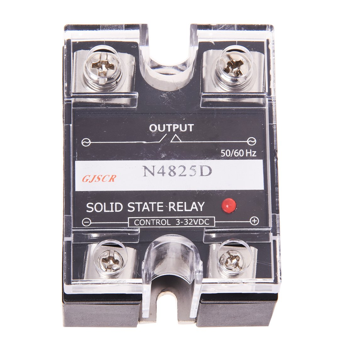 Solid State Relay - SODIAL(R)SSR Solid State Relay SSR 48-480V AC 25A 027398