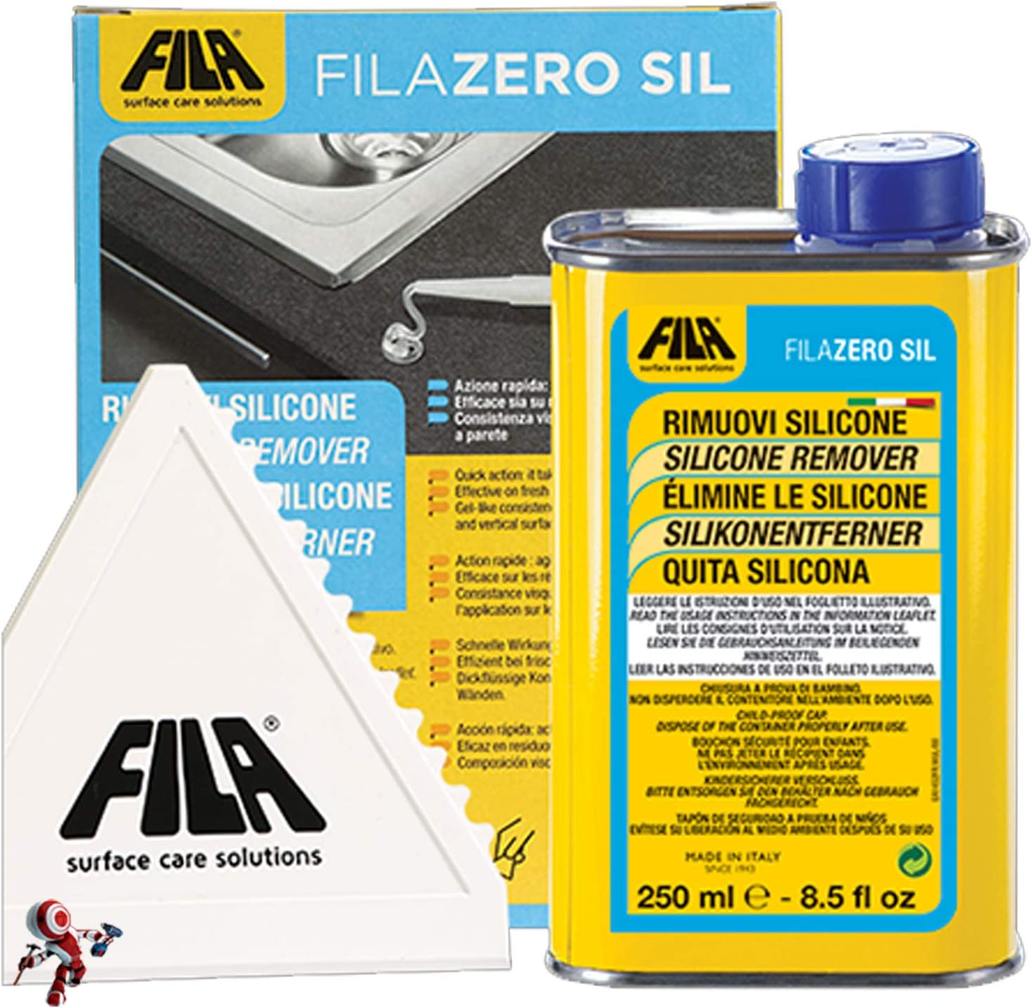 Quita silicona ZEROSIL elimina restos de silicona, pegamento ...