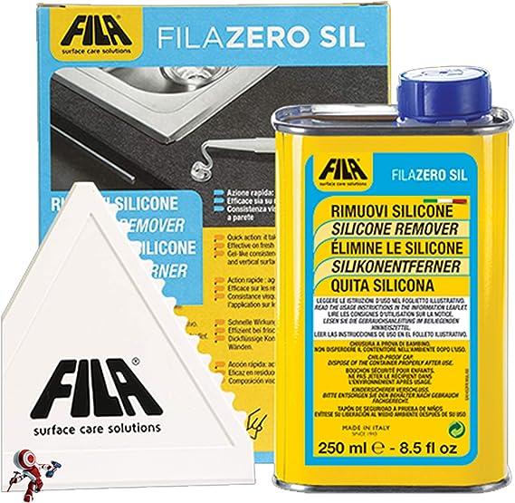 Quita silicona ZEROSIL elimina restos de silicona, pegamento, cinta adhesiva, viejas etiquetas y residuos de espuma de poliuretano.: Amazon.es: Bricolaje y herramientas