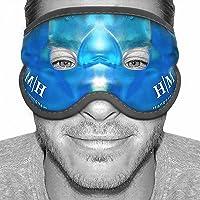 2021 Improved Design -Gel Eye Mask -HM Hangover Mask -Reusable Cooling Eye Mask for Hot Cold Therapy- Gel Mask that…