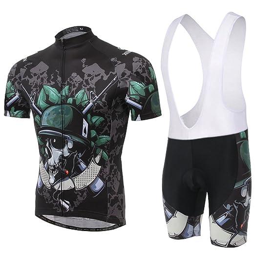 89 opinioni per Skysper- [un Set]Moda Maglia Ciclismo Jerseys Per Uomo: Corta Manica Tuta Estivo