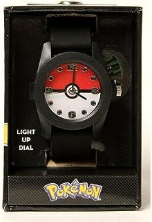 Pokemon Pokeball Light-Up Number Dial Wrist Watch