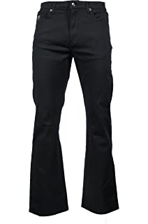 8f65aa15f5535 LCJ Denim Men s Flare Stretch Indie Jeans 70s Acid Bell Bottoms LC16 ...
