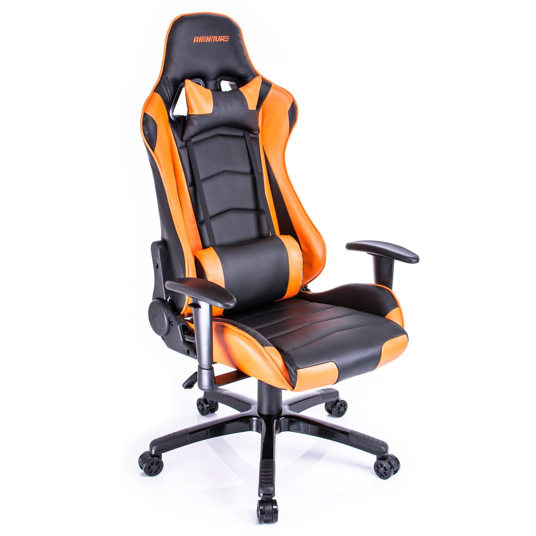 Amazon Aminiture Gaming Chair Adjustable Racing High back